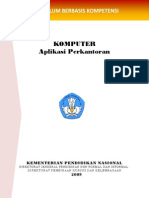 Contoh Kurikulum Kursus Komputer Berbasis Kompetensi
