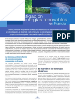 Investigación Renovables FRANCIA