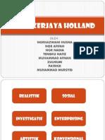 Teori Holland Group 1