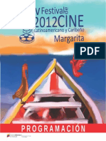 Programa v Festival Cine Latinoamericano 2012