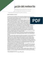 La Negacion Del Meteorito (2)