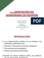 Interpretación Del Hemograma en Pediatría