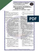 Reglamento Categoria Libre Riobotics 2014