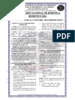 Reglamento Categoria Seguidor de Linea Riobotics 2014