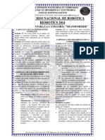 Reglamento Categoria Transformer Riobotics 2014