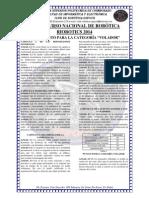 Reglamento Categoria Volador Riobotics 2014