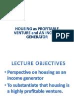 housing is money