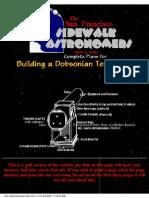 Telescope Making Manual (Web Draft, 2001)(98s)_PA