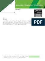 VCA DCV Exam Blueprint Guide v1 1