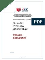 Guia de Producto Informe Estadistico