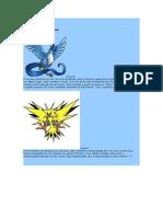 Pokemons Raros e detalhes