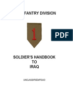 1st Infantry Handbook to Iraq