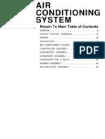 Hyundai Excel X2 1989-1998 Air Conditioning