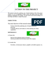 Qarshi Industries Project