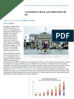 Bicicletas Elctricas en Amrica Latina Una Alternativa de Transporte Sostenible