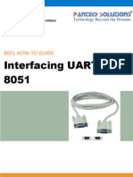 UART Interfacing With 8051 Primer