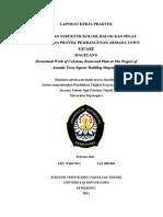 Laporan Kerja Praktek Pekerjaan Struktur Kolom Balok Dan Plat L