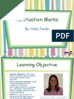 Fields Punctuation