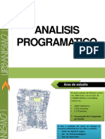 1.- Análisis programático