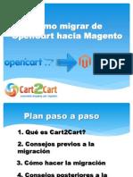 Cómo migrar de OpenCart a Magento