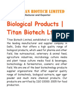 What Are the Biological Products And Their Uses