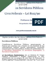 Regime Jurídico Dos Servidores Públicos Civis Federais – Power Point