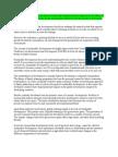 Essay on Environmental Sustainability