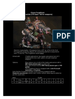 Forgefiend datafax for 2nd edition