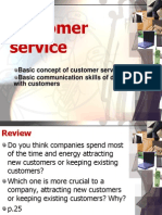 7 Unit 10 Customer Service