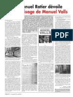 Emmanuel Ratier dévoile le vrai visage de Manuel Valls