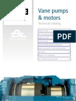 Vane pumps from TDZ (Bezares SA) - Catalogo de bombas hidráulicas de paleta de TDZ (Bezares SA)