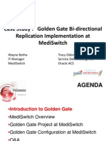 Case Study - Mediswitch Golden Gate Implementation