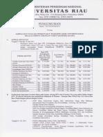 Pengumuman Pendaftaran Ulang Snmptn Undangan 2011