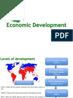 economic development revision