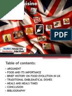 British cuisine -atestat