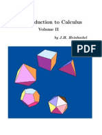 Calculus Volume-2