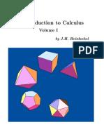 Calculus Volume-1