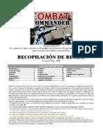 Recopilación de Reglas en Español CC V2