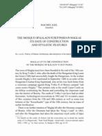 MACHIEL KIEL - THE MOSQUE OF KALAUN YUSUF PASHA IN MAGLAJ