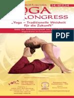 Europäischer Yoga Kongress 14. -16.11.2014