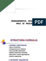 Management IMM