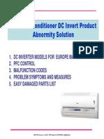Abnormity Solution for HVA1 DC INVERTER Series 20090307 2009 1
