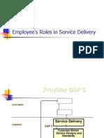 Employee's Role