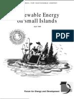 Renewable Energy on Small Islands