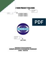 Template ProjectReport (1)
