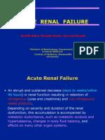 BAHAN KULIAH - Acute Renal Failure