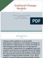 organizational change models 1