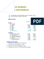 Funds Flow Analysis 03 Solutions