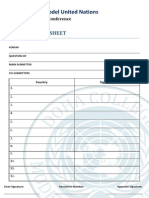 Proposed Co Submitter Sheet Dcmunvi