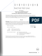 TOEFL ITP Test 1
